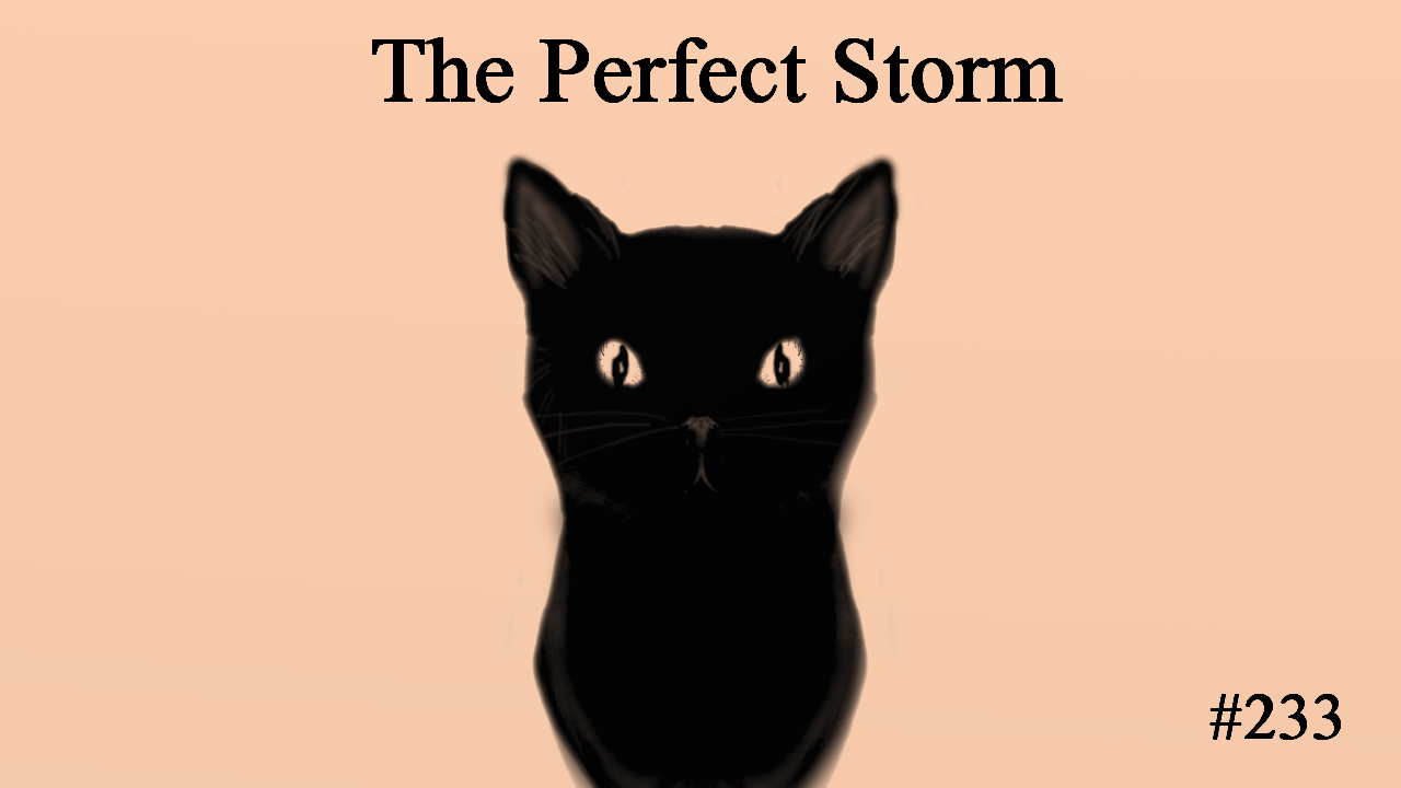 The Perfect Storm, The day had a wonderfully awful beginning. Let's take a moment to appreciate that phrase because it seems to be the only phrase to carry my sarcasm through writing. The amount of ill feelings I felt by the time work ended was weighing me down in every sense. Physical, emotional and mental breakdowns were on the way.