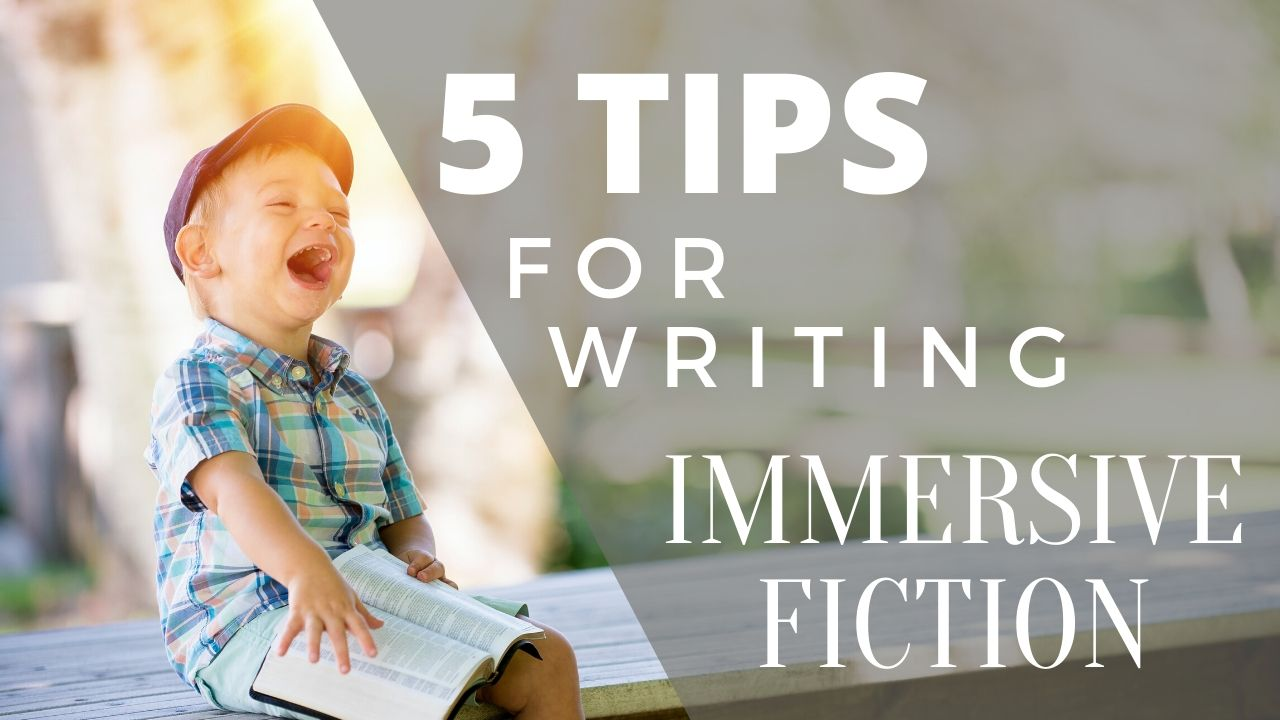 5 Tips for Writing Immersive Fiction, Matthew Dewey, The Penned Sleuth, Writing fiction has often been a challenge even for the most imaginative mind. At the end of the day, what you are doing is taking the story out of your head and using various methods to tell it to your readers. That process is made easier with planning, but your style and choice of words need to be considered at that moment if you want your story to be immersive and enjoyable.  I have 5 tips that will make writing such fiction not only easier, but better. Let's jump into it!