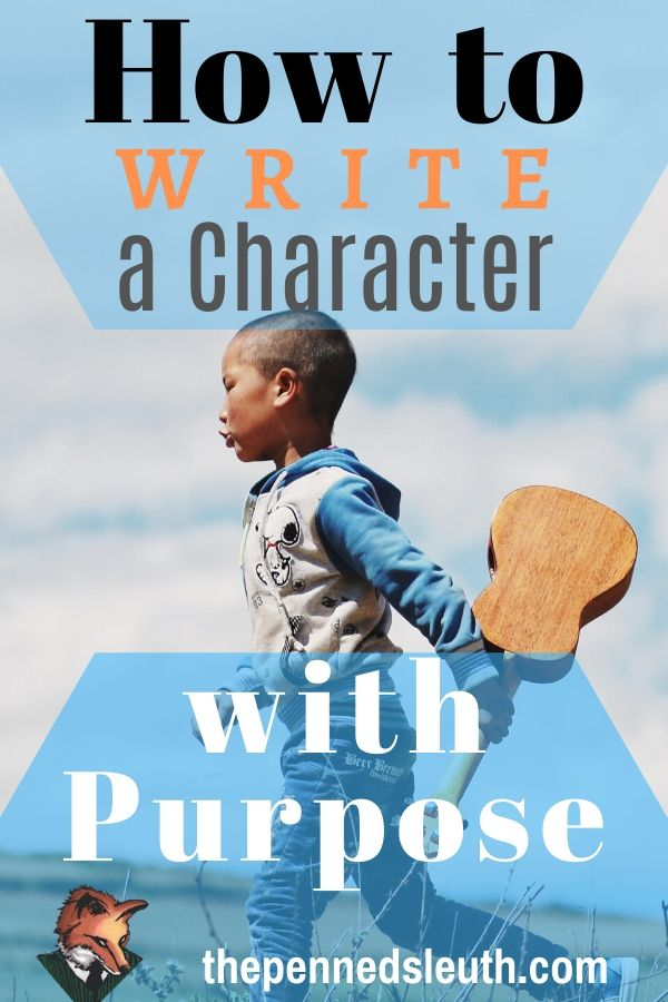 Writing a Character with Purpose and Drive in 5 Steps, Matthew Dewey, The Penned Sleuth, You've started writing your book, but your character seems to be drifting. Their interest in the plot isn't as sincere and you can't help but force them to play their part. Be it a protagonist or antagonist, this problem with purpose is common in writing. I am going to show you a five-step method to give your character purpose in your novel.  Let's jump into it!