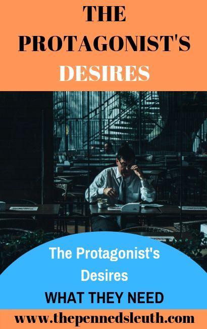 The Protagonist's Desire, Penned Sleuth, Writing Today, Writing, Educational